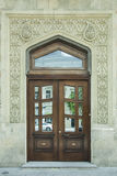 Door to the building royalty free stock image