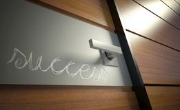 Door to career. Opportunity for success in business Stock Photo