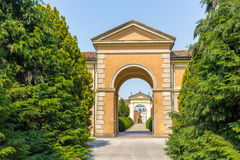 Door to a cemetery in Italy Royalty Free Stock Images