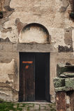 Door to the Church Of Saint George, Staro Nagoricane, Macedonia Stock Photo