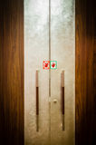 Door to conference room Royalty Free Stock Images