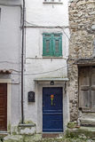 Door to each in Castel Vittorio Royalty Free Stock Images