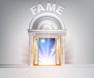 Door to Fame Royalty Free Stock Photos