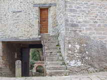 The door to the fortress. Royalty Free Stock Photography