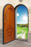 Door to freedom. Royalty Free Stock Images