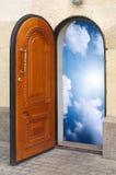 Door to freedom. Royalty Free Stock Photos