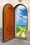 Door to freedom. Royalty Free Stock Photography
