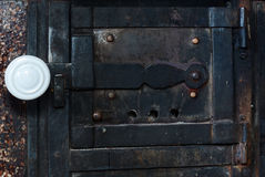 Door to furnace Stock Photography