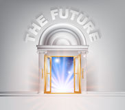 Door to the Future Stock Image