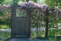 Door to garden Royalty Free Stock Photos