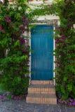 Door to garden Stock Photography