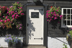 Door to The George Inn at Eartham. Royalty Free Stock Image