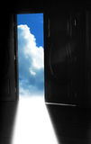 Door to heaven Stock Images