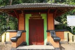 The door to Javanese Historical Sendang Sani. INDONESIA - PATI, June 7th, 2019: The door to Javanese Historical Sendang Sani in Pati, Central Jav, Indonesia_1 stock photo