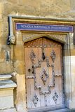 Door to learning bodleian  library Royalty Free Stock Photography