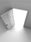 Door to light Stock Photography