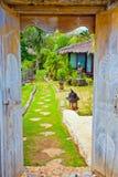 Door to luxor resort Stock Photos