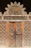 Door to Medersa Bou Inania Royalty Free Stock Photos