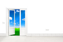 Door to nature Stock Photos