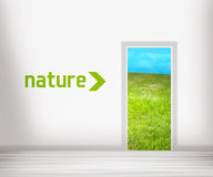 Door to Nature Royalty Free Stock Image