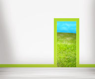 Door to Nature Stock Images