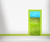 Door to Nature Stock Images