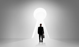 Door to new opportunities Royalty Free Stock Images