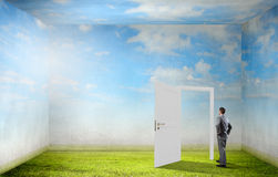 Door to new opportunity Stock Images