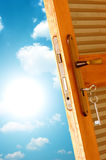 Door to new world. Stock Images