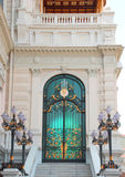 Door to the Royal palace  Stock Photography