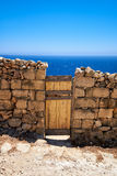 Door to the Sea Royalty Free Stock Image