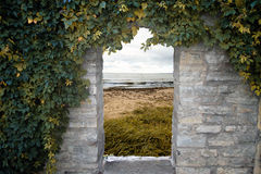 Door to the sea Royalty Free Stock Images