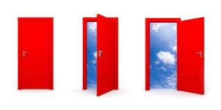 Door to sky Stock Photos