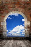 Door to sky Royalty Free Stock Image