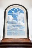 Door to the sky Stock Images
