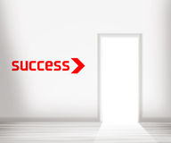 Door to Success Royalty Free Stock Photo