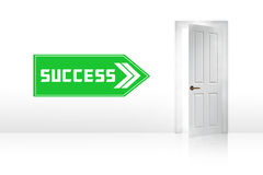 Door to success Royalty Free Stock Photos