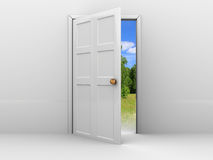 Door to summer Stock Photography