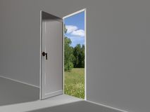Door to summer Stock Image