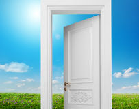 Door to summer Stock Photos