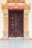 Door to the temple Royalty Free Stock Image