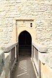 Door to tower of Kokorin castle Stock Photography