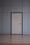 Door to utility room Stock Photos