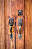 Door to your new home Stock Images
