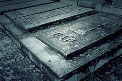 Door tomb cemetery Stock Photography