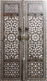 Door from Topkapi palace in Istanbul Royalty Free Stock Images
