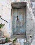 Door. Traditional door in greek village Stock Image