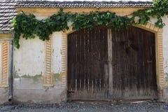 Door in Transylvania Stock Photo