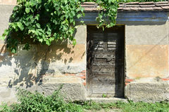 Door in Transylvania Stock Photography