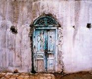 Door in Tunis. Ancient house door in Tunis Stock Photos